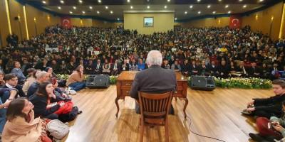 Altındağ'da İlber Ortaylı izdihamı yaşandı