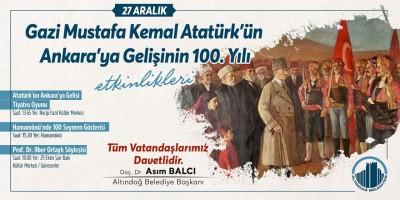 Altındağ'da 100'üncü yıl etkinlikleri coşku dolu
