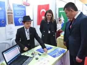 Türk Dünyasının mucit çocukları Altındağ'da buluştu